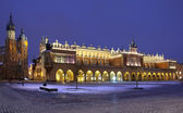 Cloth Hall - Rynek Glowny - Krakow - Poland — Stock Photo