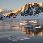 lamaire 频道-南极洲 — 图库照片