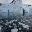 Stock Photo: Antarctic- Petzval Glacier