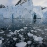 Антарктида - Петцваль ледник — Стоковое фото