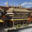 Stock Photo: Jokhang Monastery - Lhas- Tibet