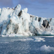 Icebergs in Jokulsarlon glacier lagoon - Iceland — Stock Photo #18299969