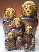 Russian Matrushka Dolls — Stock Photo