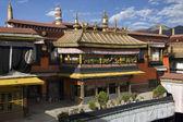 Jokhang Monastery - Lhasa - Tibet — Stock Photo