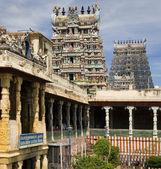 Minakshi Temple - Madurai - Tamil Nadu - India — Stock Photo