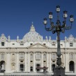 St. Peters Basilica - Vatican - Rome - Italy - Stock Photo
