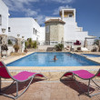 Spanish Vacation Resort Complex - Stock Photo