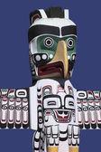Totem Pole - Stanley Park - Vancouver - Canada — Stock Photo