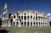 Ruins of The Colosseum in Rome - Italy — Stock Photo