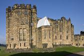Alnwick Castle - Northumberland - England — Stock Photo