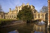 Bridge of Sighs - Cambridge - England — Stock Photo