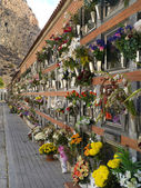 Cemitério espanhol - costa blanca - Espanha — Fotografia Stock