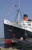 Queen Mary - Long Beach - California - USA — Stock Photo