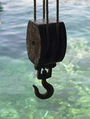 Hook, Block and Tackle — Foto Stock