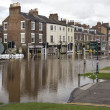 York Floods - Sept.2012 - United Kingdom — Stock Photo #18371789