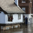 York Floods - Sept.2012 - United Kingdom — Stock Photo #18373161
