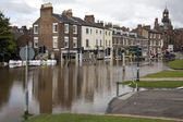 York Floods - Sept.2012 - United Kingdom — Stock Photo
