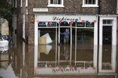 York Floods - Sept.2012 - United Kingdom — Stock Photo