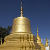 Stupa of Pindaya Temple - Myanmar — Foto Stock