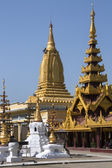 Myanmar de complexe - bagan - pagode shwezigon — Photo