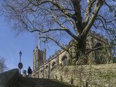 Lancaster Priory - Lancaster - England — Stock Photo
