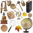 Assorted Objects - Isolated — Stock Photo