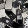 Old Mobile Phones - Cellphones — Stock Photo