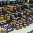 Jams and Marmalade - British Market — Stock Photo