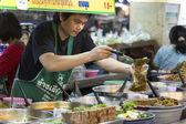 Thanin Market - Chiang Mai - Thailand — Stock Photo