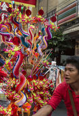 Chinese New Year Celebrations - Bangkok - Thailand — Stock Photo