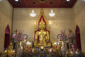 Wat Traimit - Bangkok - Thailand — Stock Photo