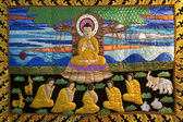 Buddhist Thangka - Thailand — Stock Photo