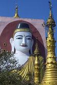 Kyeik Pun Pagoda - Bago - Myanmar — Stock Photo