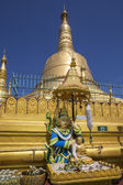 Shwemawdaw Paya - Bago - Myanmar — Stock Photo