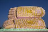 The Feet of Buddha - Bago - Myanmar — Stock Photo