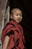 Young Monk - Nyaungshwe - Myanmar — Stock Photo