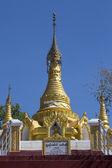 Buddhist Stupa near Mt Popa - Myanmar — Stock Photo