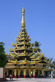 Shwemawdaw Paya - Bago - Myanmar — Stock Photo