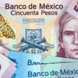 Banknotes of Mexico — Stock Photo