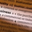 Business - Dictionary Definition — Stock Photo
