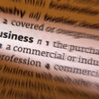 Stock Photo: Business - Dictionary Definition