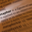 Metaphor - Dictionary Definition — Foto Stock
