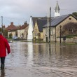 Yorkshire Flooding - England — Stock Photo #29689915