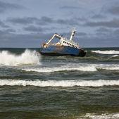 Shipwreck - Skeleton Coast - Namibia — Stock Photo