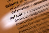 Default - Dictionary Definition — Stock Photo