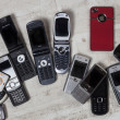 Old Mobile Phones - Cell Phones — Stock Photo #30399495
