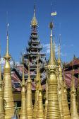 Shwe Inn Thein Temple - Ithein - Inle Lake - Myanmar — Stock Photo