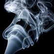Swirls of smoke — Foto Stock