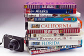 Travel Guides of the USA — Stockfoto