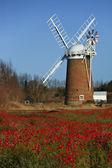 Horsey Windpump - Norfolk - England — Stock Photo